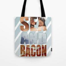 SEX AND BACON Tote Bag