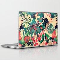 jungle Laptop & iPad Skins featuring Jungle by Demi Goutte