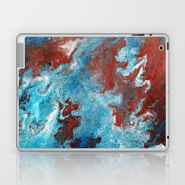 Fantasy in Copper and Blue Laptop & iPad Skin