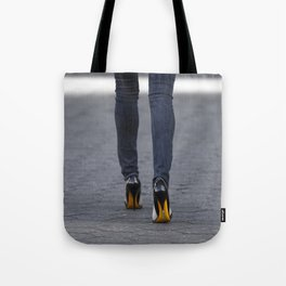 Excess Yellow Tote Bag