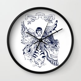 Mother of Fuckers Wall Clock
