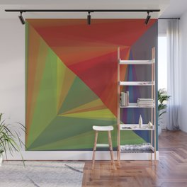Abstract Composition 666 Wall Mural