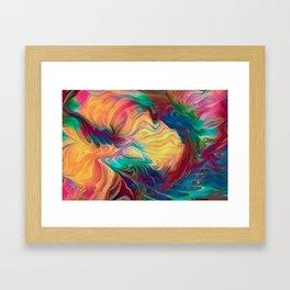 Crepe Paper Dance Framed Art Print