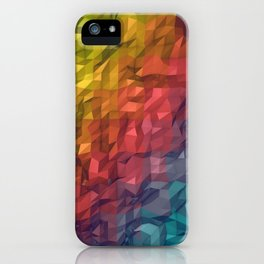 Poly Colours  iPhone Case