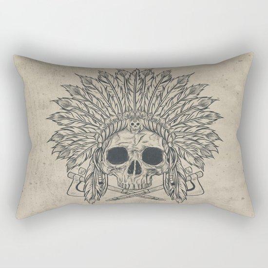 The Dead Chief Rectangular Pillow