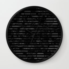 Introversion Dye Wall Clock