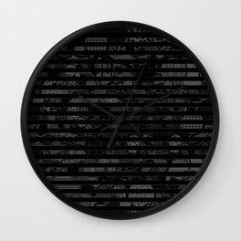 Introversion Dye Wall Clock