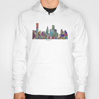 houston Hoodies featuring Houston by bri.buckley