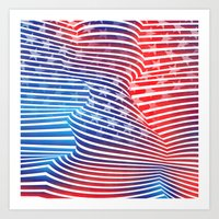American Twist Art Print