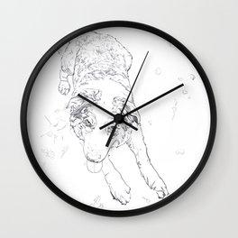 Remi line art Wall Clock