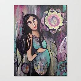 Blooming Miracle Canvas Print