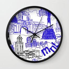 Manila Wall Clock
