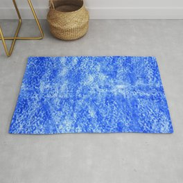 Color gradient and texture 22 light blue Rug