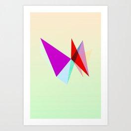 Strange Concertina Art Print