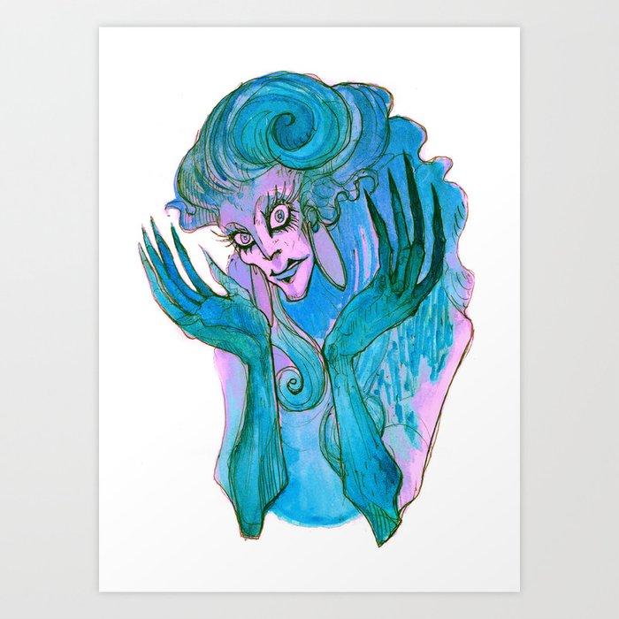 Phenomenal Cosmic Lunacy! Art Print