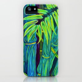 ʻOhe Polū - Blue Bamboo iPhone Case