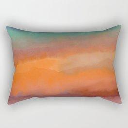 Arabian Sunrise Rectangular Pillow