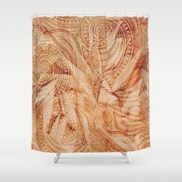 Shakkan Shower Curtain