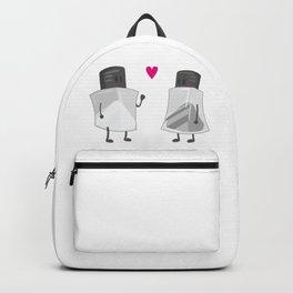 Salt & Pepper In-Love Artwork Backpack