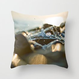 Glittering, shimmering ... Throw Pillow