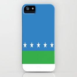 Flag of San Jose Costa Rica iPhone Case