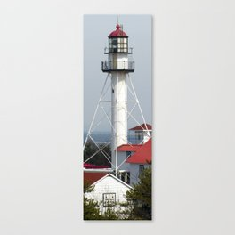 Whitefish Point Lighthouse Tower Canvas Print