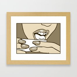 The Elements_Water (Maude) Framed Art Print