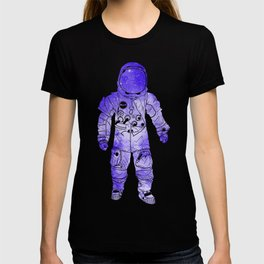 Rave Invaders PLUR Space Force Astronaut T-shirt