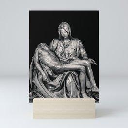 Michealangelo Masterpiece La Pieta Sculpture Mini Art Print