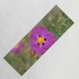 Lynda Anne Art Flower Yoga Mat
