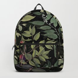 Leaves in Dark Backpack