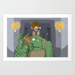 Loot! Art Print