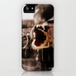 A Man's Heart : Chevy Camaro Engine iPhone Case