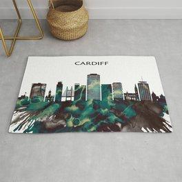 Cardiff Skyline Rug
