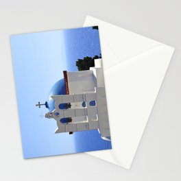 Blue Top Church Stationery Cards