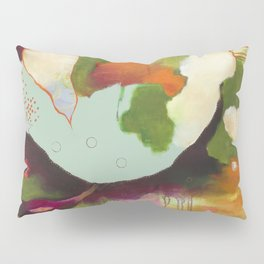 """""""Clouds Gave My Soul An Idea"""" Original Painting by Flora Bowley Pillow Sham"""
