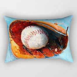 Modern baseball version 1 Rectangular Pillow