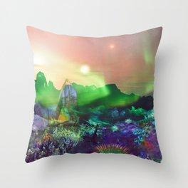 Symbiodinia-MJ-4 Throw Pillow