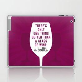 Bottle Of Wine Laptop & iPad Skin