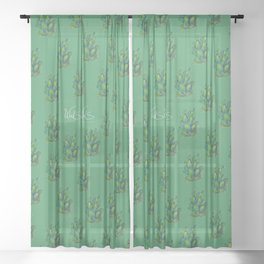 CACTUS Sheer Curtain