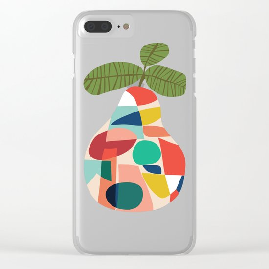 Fresh Pear Clear iPhone Case