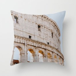 Colosseum / Rome, Italy Throw Pillow