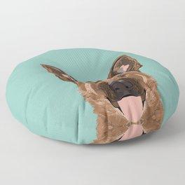 Skylar - German Shepherd gifts for dog people dog lover gifts german shepherd owners perfect gifts Floor Pillow