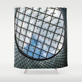 Fulton Station NYC Shower Curtain