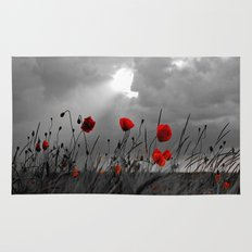 Only poppies... Rug
