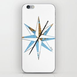 Across the Universe Compass iPhone Skin