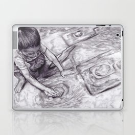 Boy With A Coin Laptop & iPad Skin