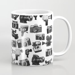 Cameras Black & White Coffee Mug