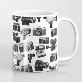 Cameras Black & White Coffee Mug