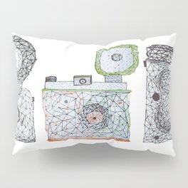 3 is a crowd Pillow Sham